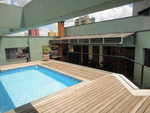 Flat Com 1 Dormitório Para Alugar, 50 M² Por R$ 1.408,75/mês - Centro - Limeira/sp - Fl0001