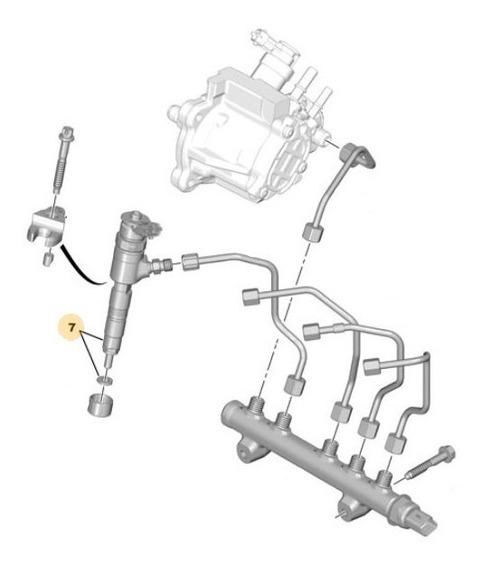 Portainyector Peugeot 208 1.6 D