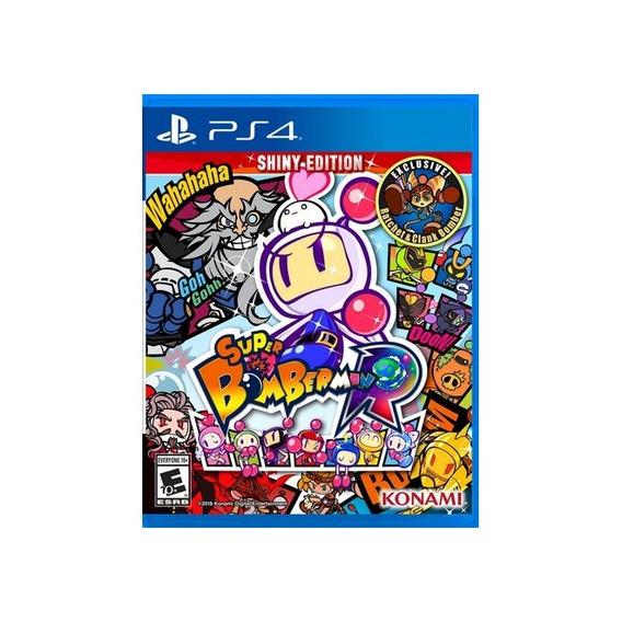 Super Bomberman R Shiny Edition - Ps4 Midia Fisica Lacrado
