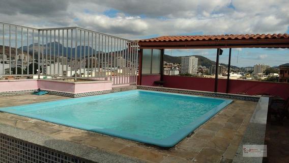Cobertura Duplex Para Venda Em Rio De Janeiro, Vila Da Penha, 3 Dormitórios, 3 Banheiros, 1 Vaga - 189-12909