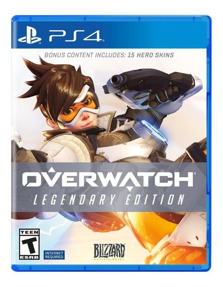 Overwatch Legendary Edition Ps4 Midia Digital Primaria