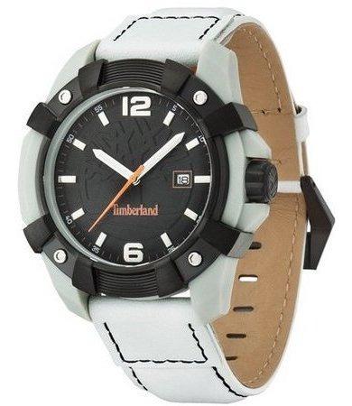 Relógio Branco Timberland Masculino Tbl.13326jpgyb