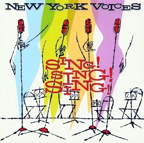 Cd New York Voices - Sing! Sing! Sing! (2001) Importado