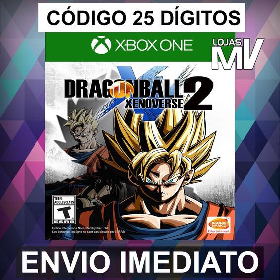 Dragon Ball Xenoverse 2 Xbox One Codigo De 25 Digitos