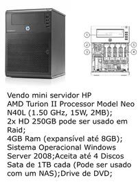 Microserver Hp Proliant Servidor