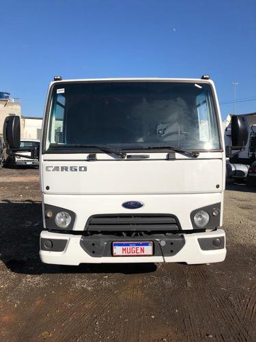 Imagem 1 de 15 de Ford Cargo 816 S. 2017 - 3/4 - Guincho - Mugen Caminhoes