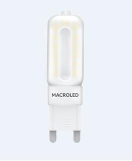 Lampara Bipin Opal Led Foco 5w G9 Luz Fría/cálida Macroled