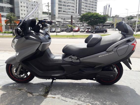 Burgman 650 Executive 2018 Cinza C\ 9,500 Km Impecavel