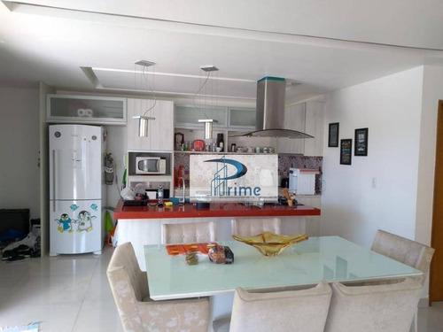 Cobertura Com 2 Dormitórios À Venda, 164 M² Por R$ 790.000,00 - Camboinhas - Niterói/rj - Co0020