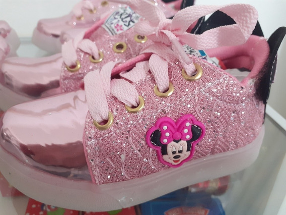 Zapatillas Minnie Con Luces