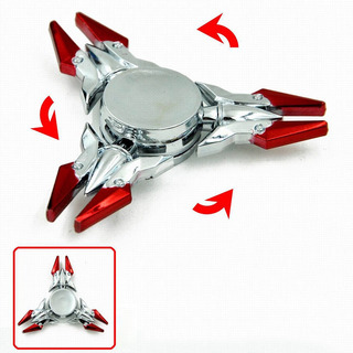 Fidget Spinner Metalico Anti Estrés
