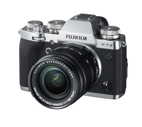 Camara X-t3 Silver + Lente Xf 18-55mm F/2.8-4 R Lm Ois