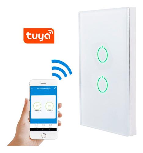 Interruptor Wifi Inteligente Doble Control Desde Celular