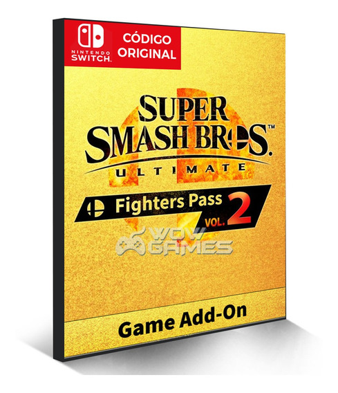 Super Smash Bros Ultimate Fighters Pass 2 - Nintendo Switch