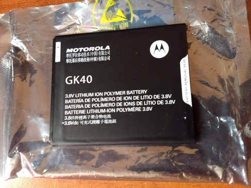 Bateria Moto G5 Original Motorola, Tambien Moto G4