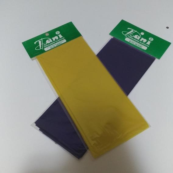 43 Folhas De Papel Celofane 80x100