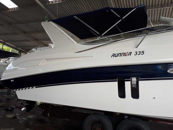 Lancha Runner 335 Diesel Mercruiser 2.8 Lancha Runner