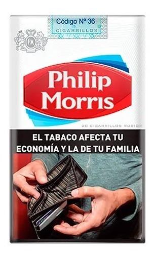 Philips Morris Común 20 Cigarrillos X 10 Unidade Microcentro