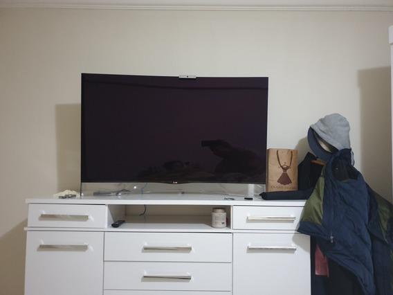 Tv Oled Lg 55 Tela Curva / 3d / Full Hd / Smart / Webcam