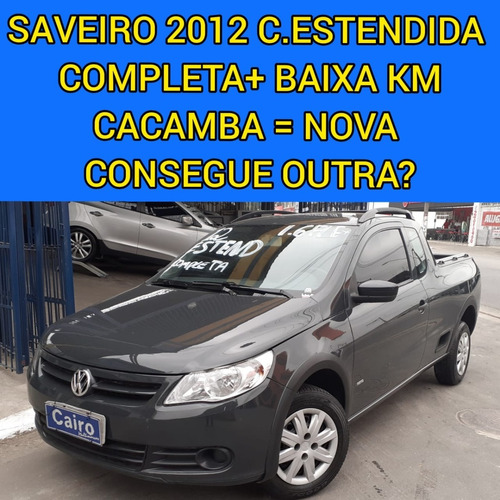 Imagem 1 de 13 de Saveiro 2012 1.6 Flex Cabine Estendida Completa Baixa Km