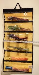 Currican Para Marlin Bolsa Con 6 Señuelos Grandes 38 Cm