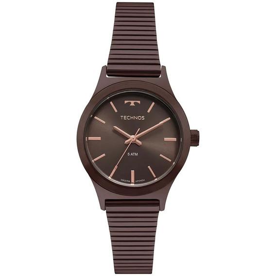 Relógio Boutique Marrom Technos 2035mqh/4m