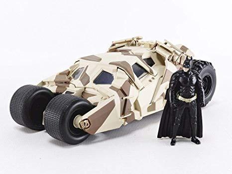 Miniatura Batmóvel The Dark Knight Cavaleiro Das Trevas 1:24