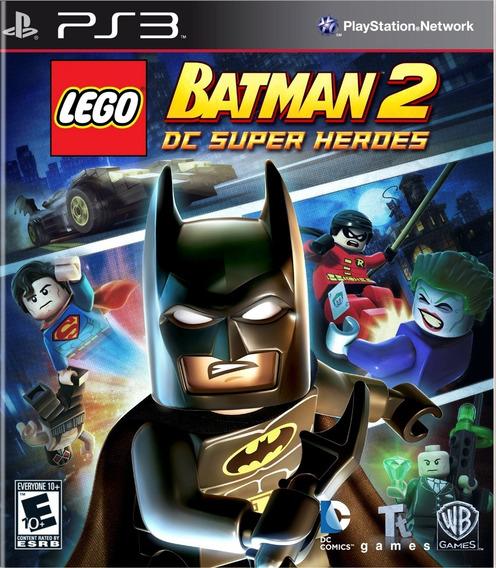Lego Batman 2 Dc Super Heroes Ps3 Português Psn Original