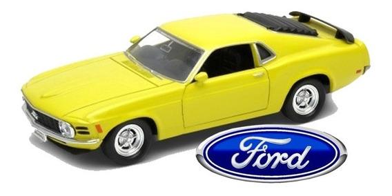 Ford Mustang Boss 302 1970 - Colección Autos Clásicos