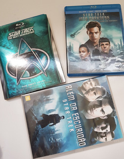 Lote Box Star Trek Next Blu-ray Dvd Original Importado