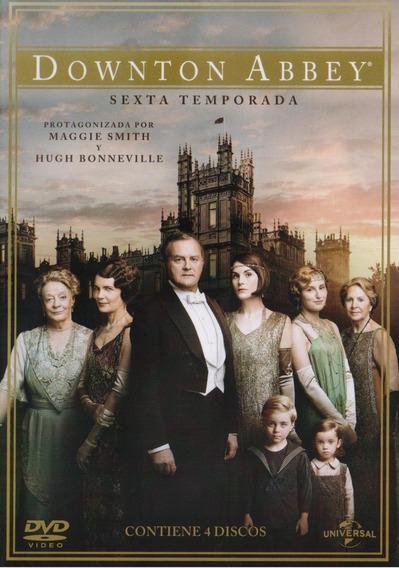 Downton Abbey Sexta Temporada 6 Seis Dvd
