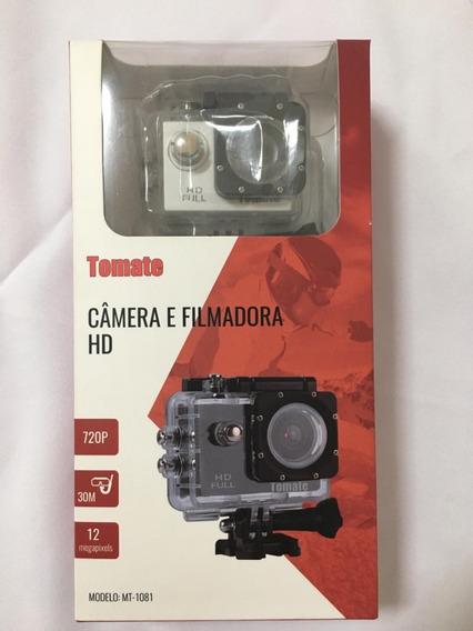 Camera E Filmadora Esportes Full Hd 720p - Tomate