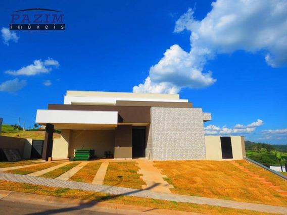 Casa À Venda, 314 M² - Condomínio Campo De Toscana - Vinhedo/sp - Ca4369