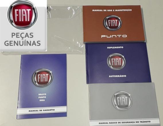 Manual Do Fiat Punto 2016/17 Novo E Original