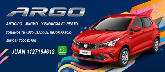 Fiat Argo 0km Drive 1.3 Y Hgt 1.8 Retira Con 80000 Y Dni *j