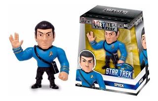 Figura De Acción Star Trek Spock 10cm Die Cast Metal