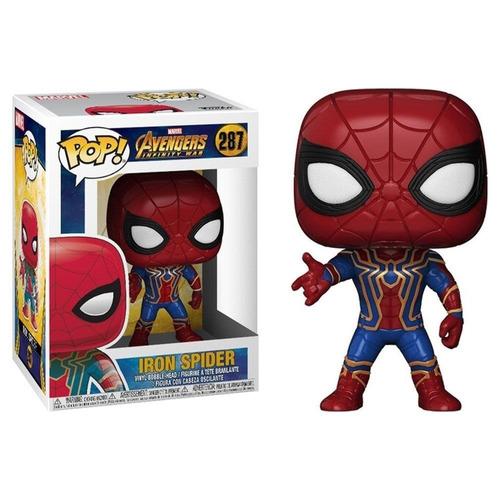 Funko Pop Iron Spider 287 Avengers Infinity War Marvel