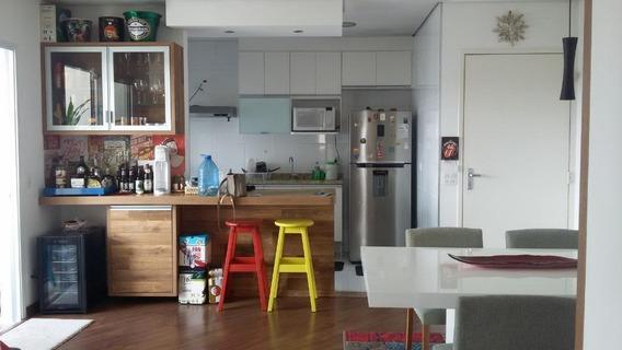 Apartamento Em Vila Mogilar, Mogi Das Cruzes/sp De 67m² 1 Quartos Para Locação R$ 2.500,00/mes - Ap538921