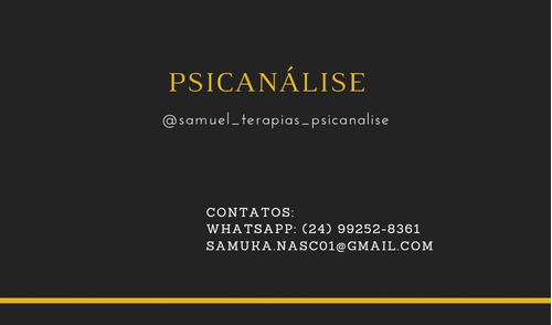 Sessão De Psicanálise On-line