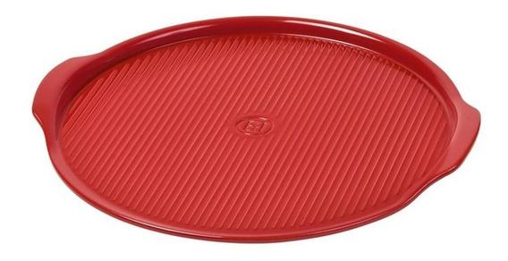 Base Para Pizza Mediana Color Rojo De 30cm