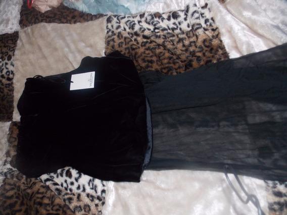 Vestido Pantal Fiesta Strapless Original Valentino Talle 10