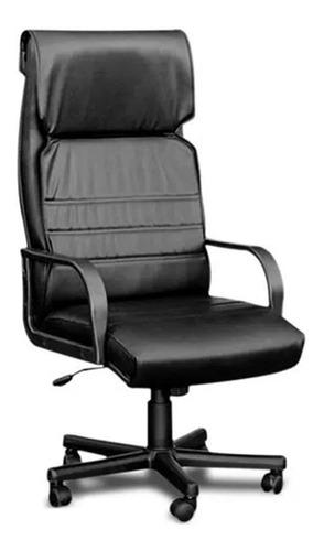 Silla de escritorio Baires4 Mito PVC ergonómica  con tapizado de cuero sintético