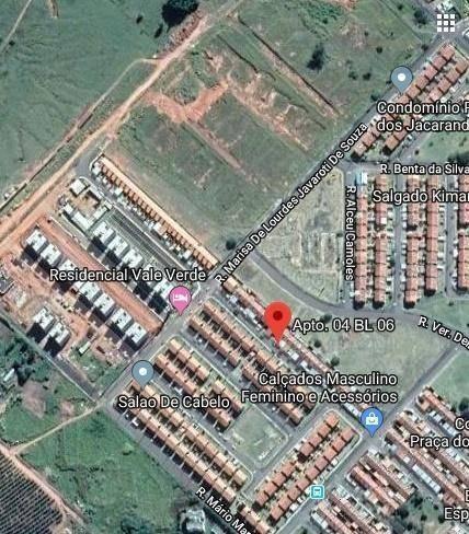 Apartamento Com 2 Dormitórios À Venda, 42 M² Por R$ 52.649,01 - Vereador Eduardo Andrade Reis - Marília/sp - Ap4954