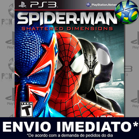 Jogo Homem Aranha Shattered Dimensions - Digital Cód Psn Ps3