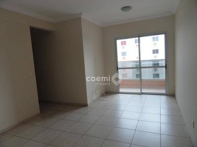 Apartamento Com 2 Dormitórios Para Alugar, Residencial Santorini, Lazer Completo, 2 Vagas - Ap2061