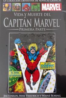 Novelas Gráficas De Marvel Nº 096 Vida Muerte Capitán Marvel