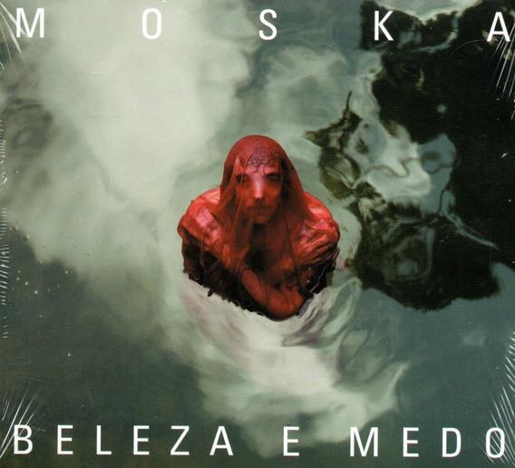 Cd Moska - Beleza E Medo - Paulinho Moska