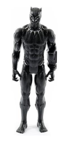 Imagen 1 de 2 de Figura Black Phanter Avengers-negro