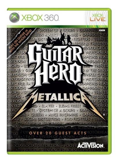 Guitar Hero Metallica - Xbox 360 - Usado - Original