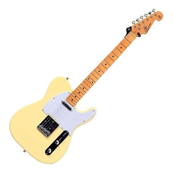 Guitarra Telecaster Sx Stl 50 Branco Vintage